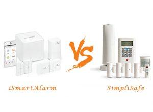 iSmartAlarm vs SimpliSafe 2 Review and Comparison Table